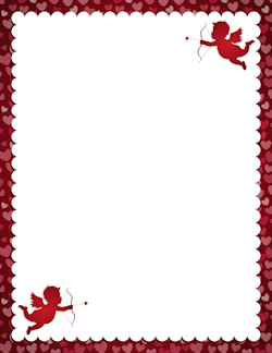 250x324 Page Borders For Valentine's Day And St. Patrick's Day