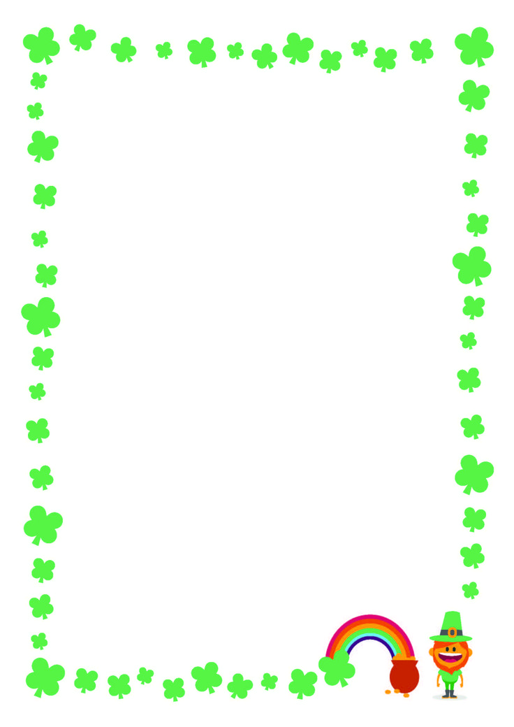 736x1040 St Patrick S Day Border Pictures To Pin