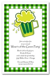167x250 St. Patrick's Day Invitations, St. Patrick's Day Party Invitations
