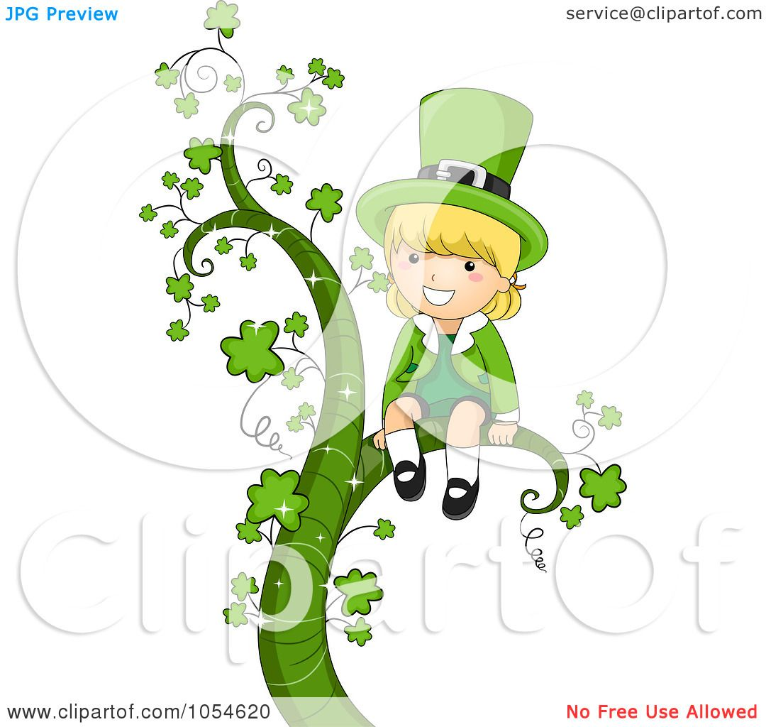 1080x1024 Royalty Free Vector Clip Art Illustration Of A St Patricks Day