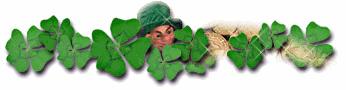 346x90 St Patricks Day Border Clip Art
