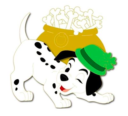 410x373 Lucky St. Patrick's Day Pin