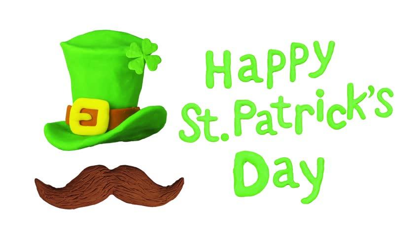 852x480 St Patrick Day Shamrock And Golden Coins St Patrick Day Symbols