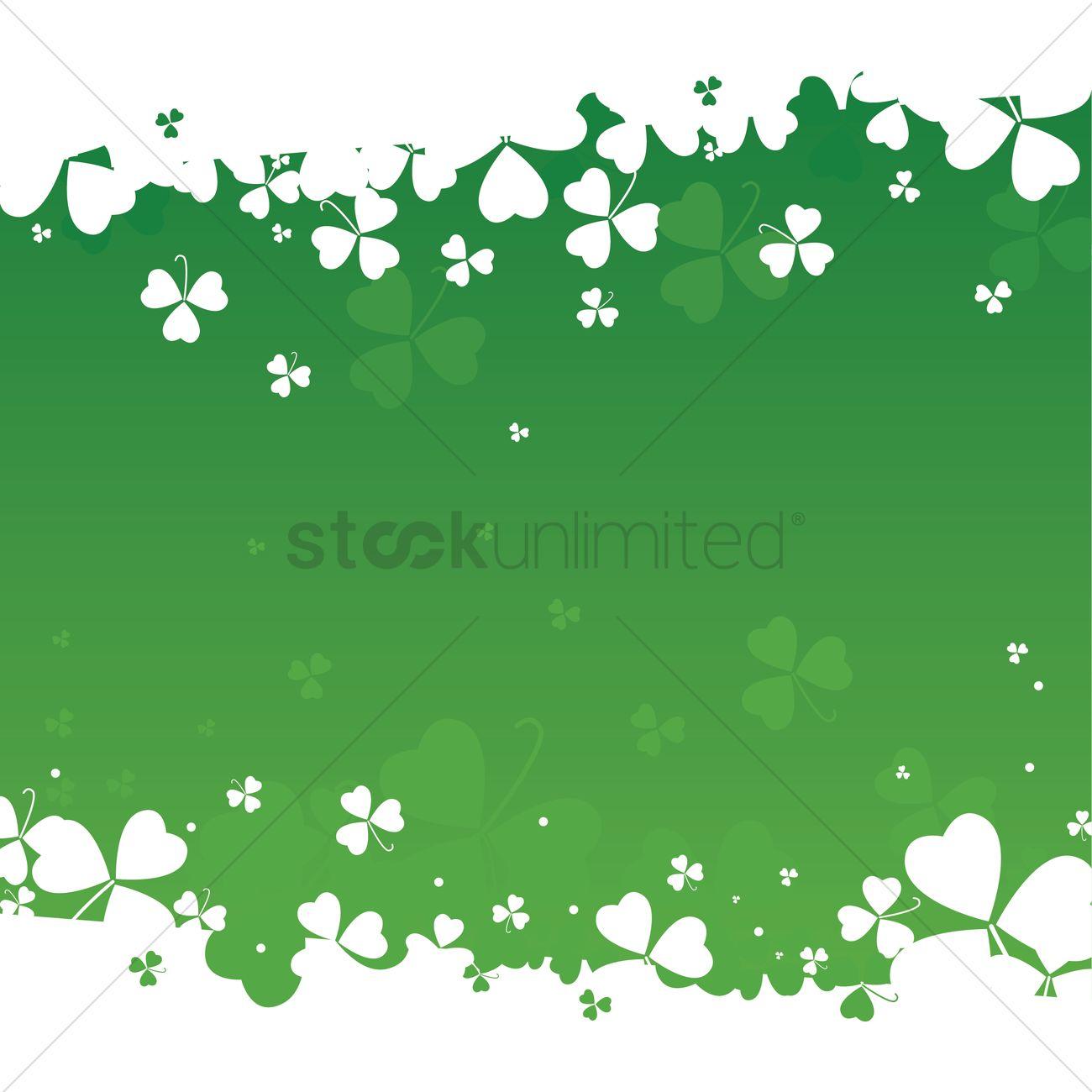 1300x1300 St Patricks Day Theme Background Vector Image