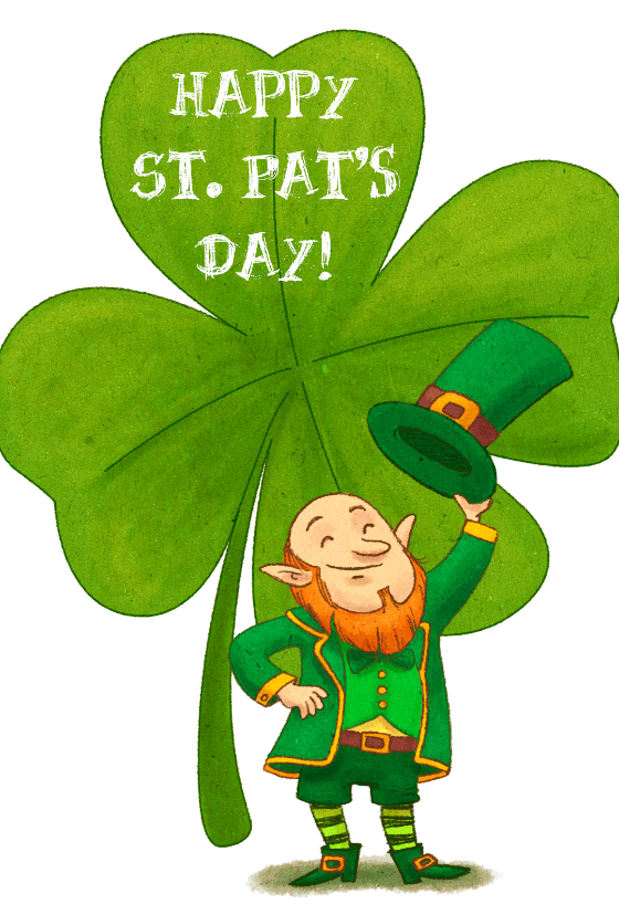 560x818 Free Printable St. Patrick's Day Cards Greetings Island