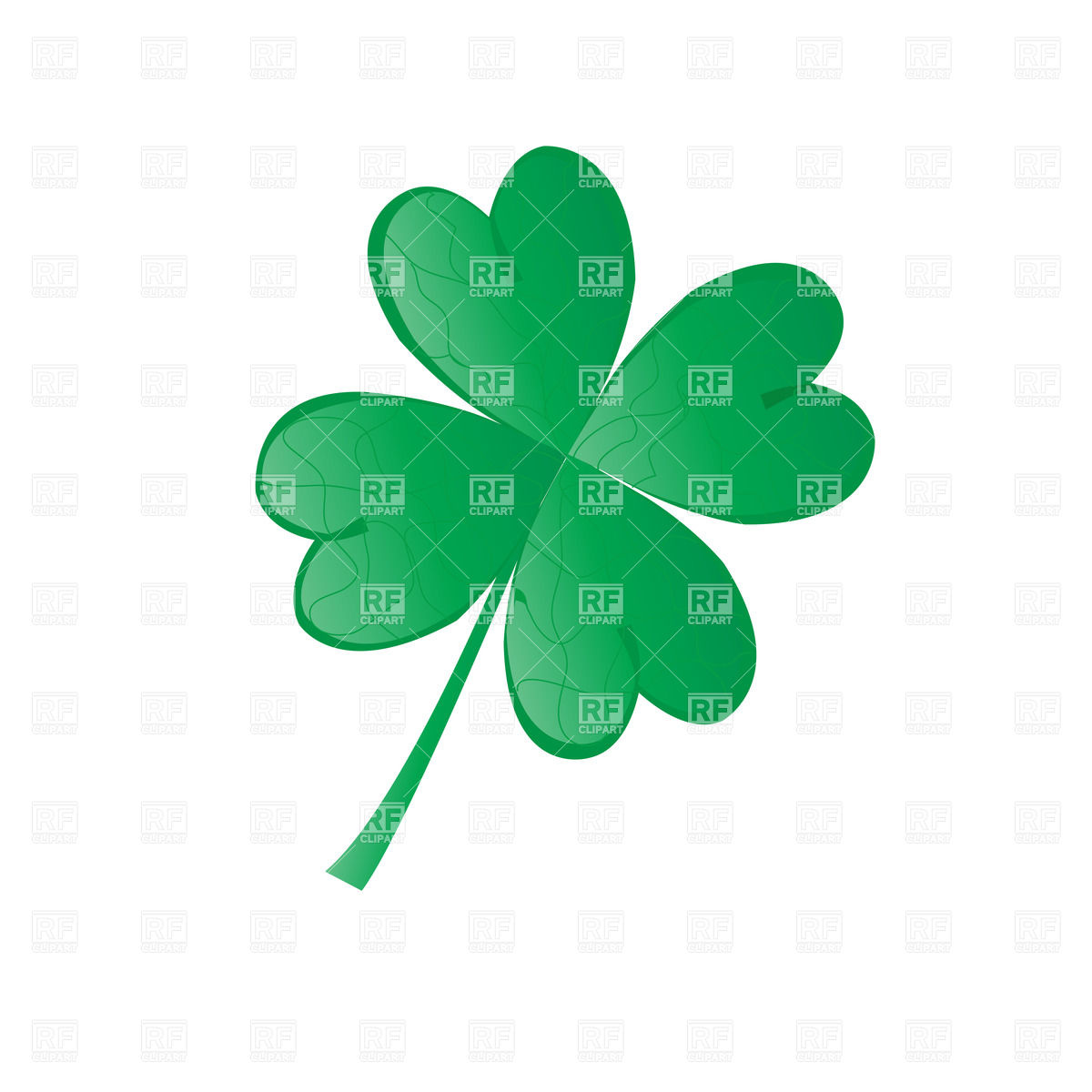 1200x1200 Four Leaf Shamrock