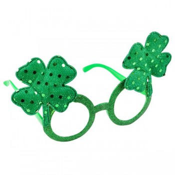 350x350 Patrick's Day Green Shamrock Novelty Glasses