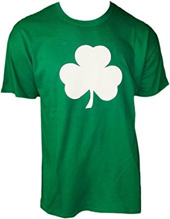 342x440 Usa Screen Printed Green Irish Shamrock T Shirt St