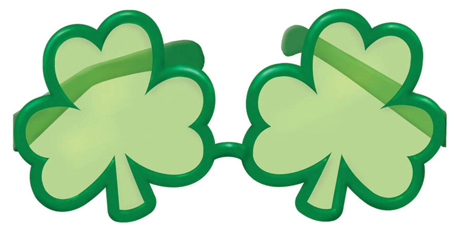 1600x836 Buy St. Patrick's Day Shamrock Shaped Sunglasses