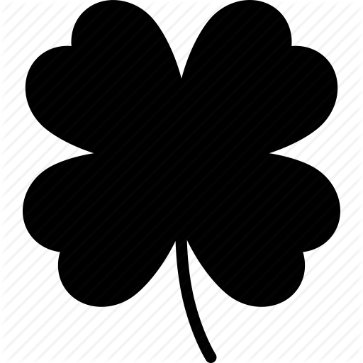 512x512 Clover, Good, Irish, Luck, Lucky, Shamrock, St Patricks Day Icon