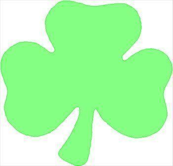 350x336 Clover Shamrock Inverse Chocolate Mold For St Patricks Day Free 3d