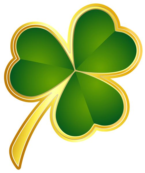 St Patricks Day Shamrocks Clipart