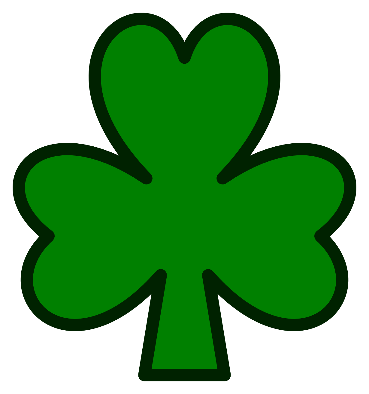 1229x1311 Green Clover Clip Art