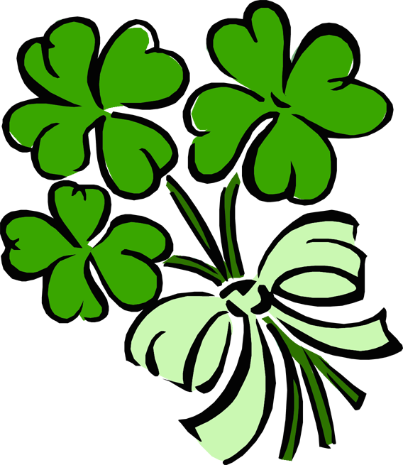 568x655 Shamrock Cliparts