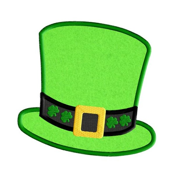 619x619 Irish Clipart Leprechaun Hat