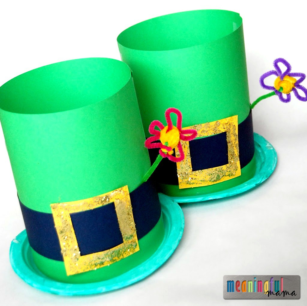 1024x1021 Leprechaun Hats Craft, Activities And Diy Ideas