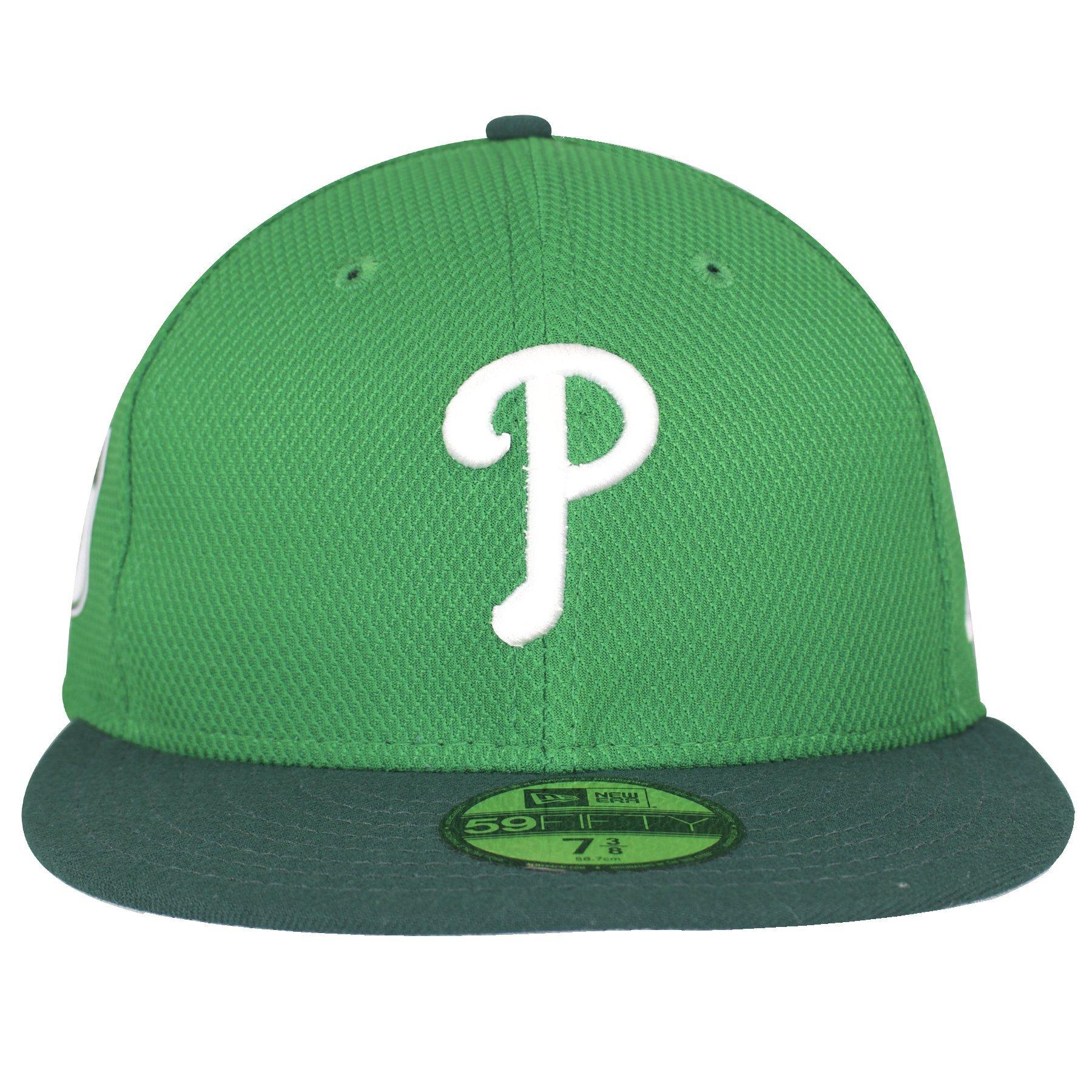 1800x1800 Philadelphia Phillies Irish Green St. Patrick's Day Fitted Cap
