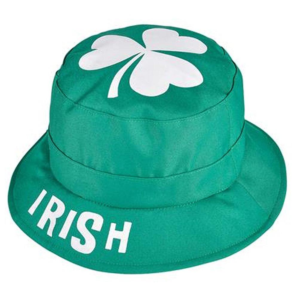 1001x994 Reversible St. Patrick's Day Irish Green Bucket Hat