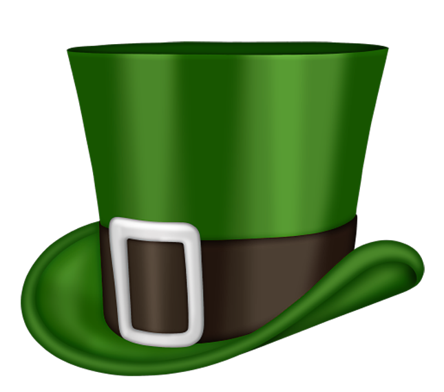 645x570 St Patrick Day Green Leprechaun Hat Png Clipartu200b Gallery