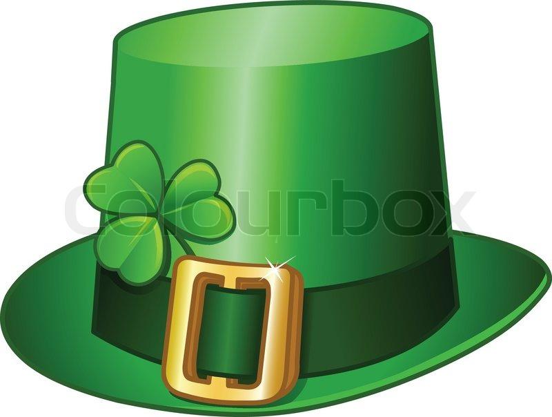 800x604 St Patricks Hat Stock Vector Colourbox