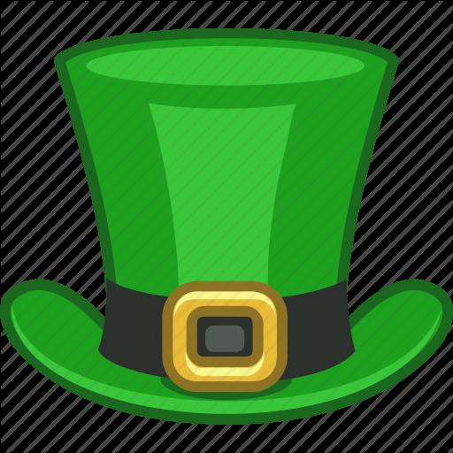 512x512 Green, Hat, Ireland, Irish, Leprechaun, Saint Patrick, Tophat Icon