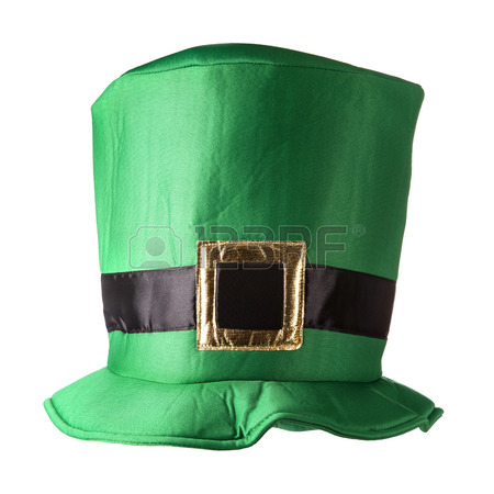 450x450 Green St. Patrick's Day Hat Isolated On White Background Stock