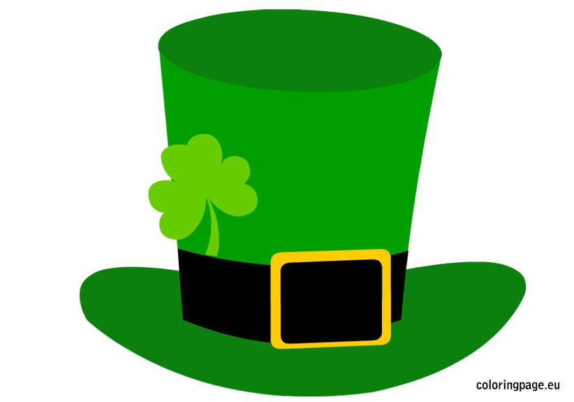 822x575 Hat Clipart St Patricks Day