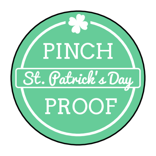 500x500 St. Patrick's Day Label Templates