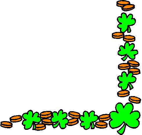 490x465 St. Patrick's Day Clipart St Patrick's Day Border Clipart