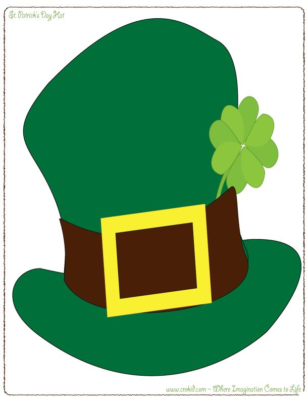 610x793 Imagination Clipart St Patty