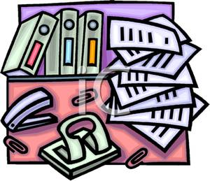 Stack Of Paper Clipart