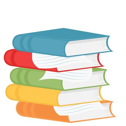Stacked Books Clipart