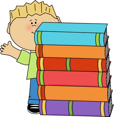 Stacks Of Books Clipart