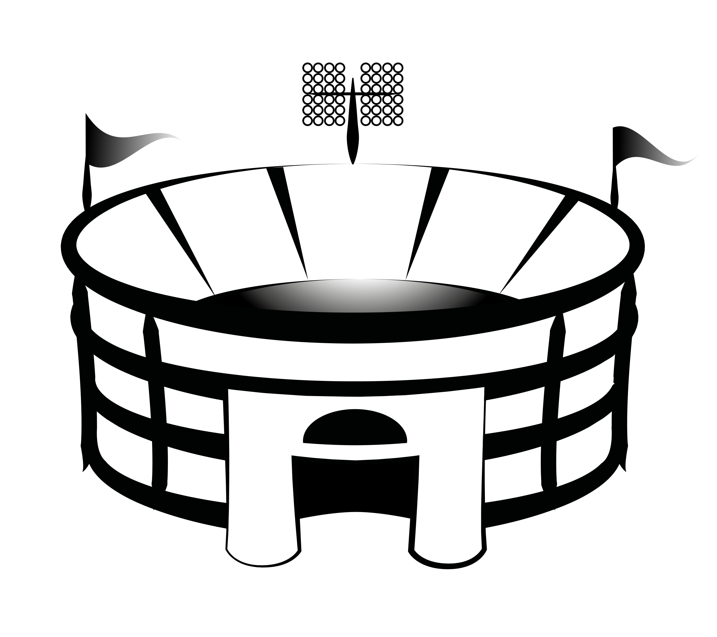 2400x2131 Clip Art Football Stadium Clipart Panda