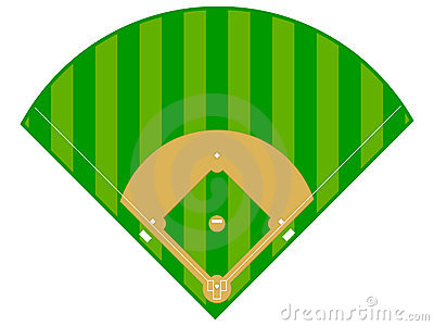 400x300 Clipart Baseball Field