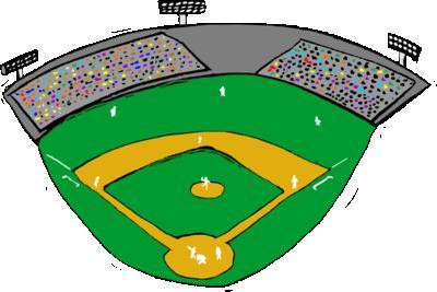 400x267 Crowd Clipart Baseball Stadium