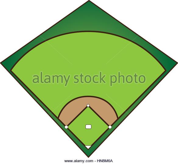 585x540 Field Baseball Clipart, Explore Pictures