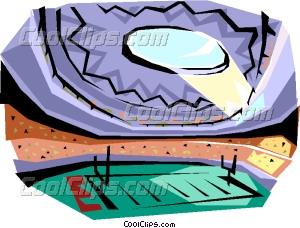 300x228 Football Stadium Vector Clip Art