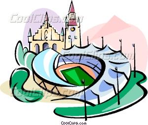 300x254 Germany Munich Olympic Stadium Vector Clip Art