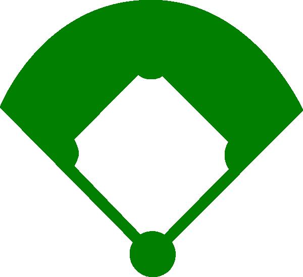 600x549 Baseball Field Clip Art