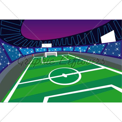 500x500 Soccer Clipart Soccer Stadium