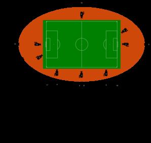 298x282 Stadium Cameras Clip Art