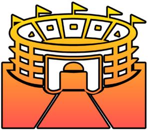 297x261 Stadium Cutout Clip Art