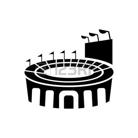 450x450 Stadium Clipart Arena
