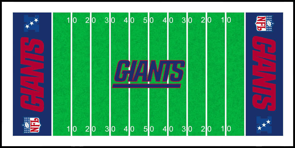 964x486 Football Field Clipart
