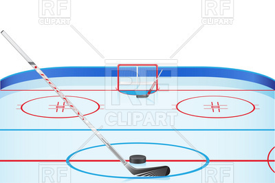 400x266 Hockey Stadium Royalty Free Vector Clip Art Image