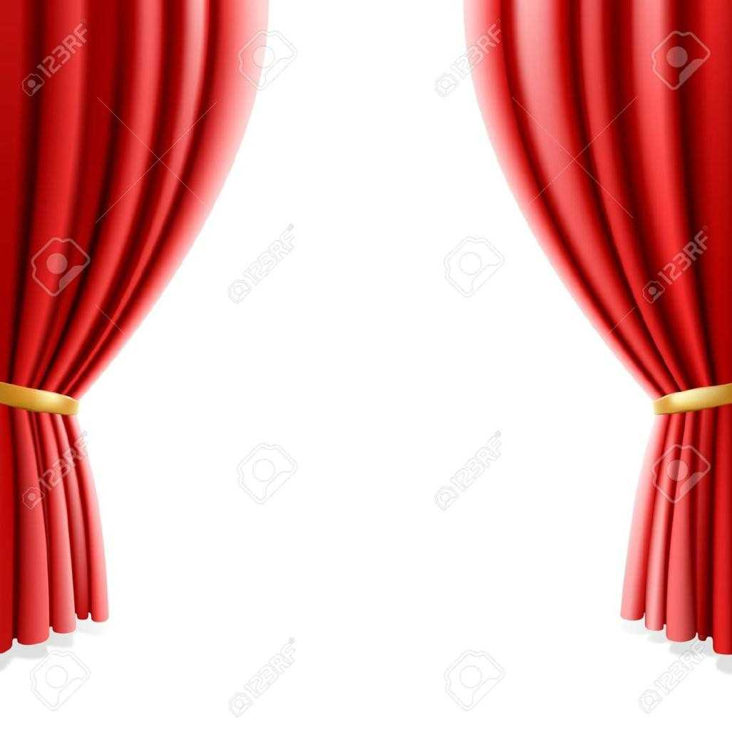 1027x1027 Colorful Curtains Red Theatre Curtain Png Stage S Images Theater