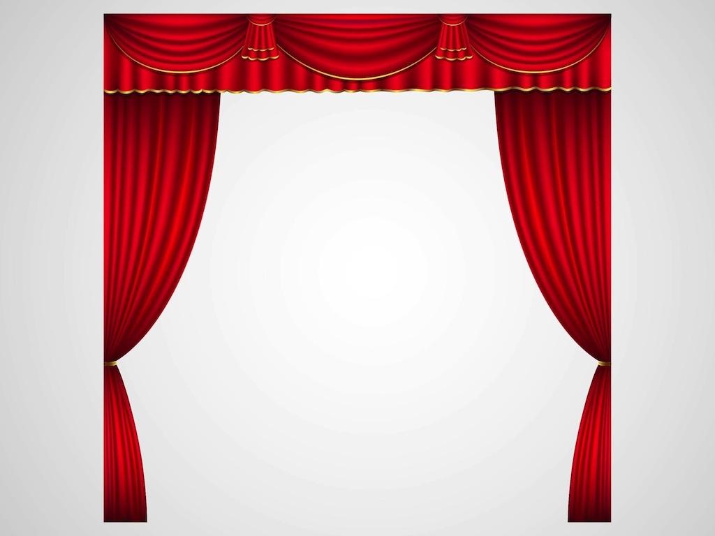1024x768 Curtain Clipart