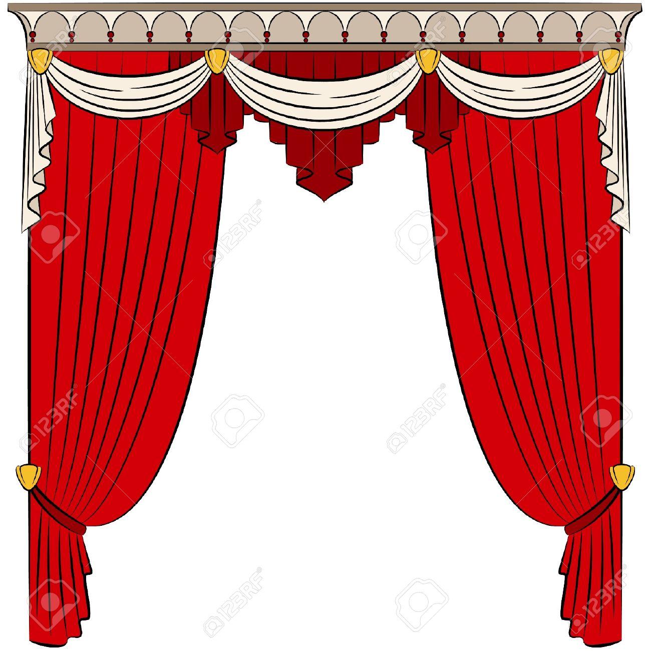 1300x1300 Design Clipart Curtain