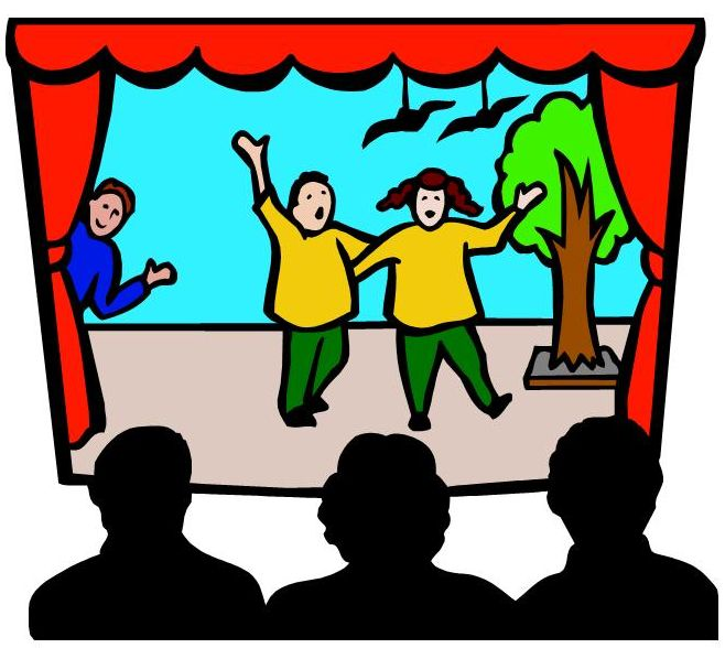 658x588 Kids Stage Drama Clipart